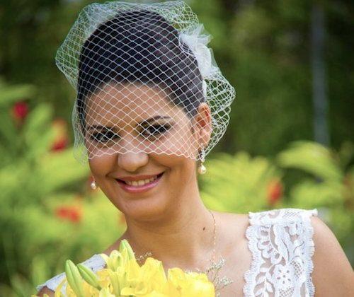 Noiva Allyde Voilette Elizabete Munzlinger