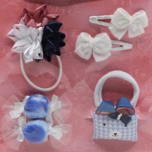 04 Kit Accessories Elizabete Munzlinger for Little Girls