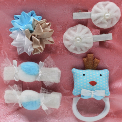 07 Kit Accessories Elizabete Munzlinger for Little Girls