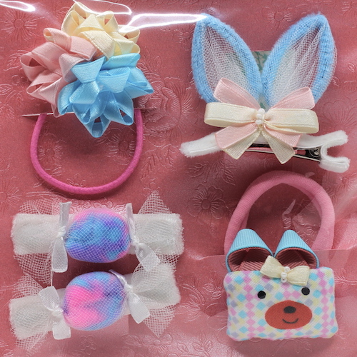 09 Kit Accessories Elizabete Munzlinger for Little Girls
