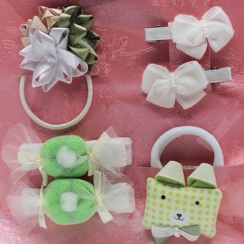 11 Kit Accessories Elizabete Munzlinger for Little Girls
