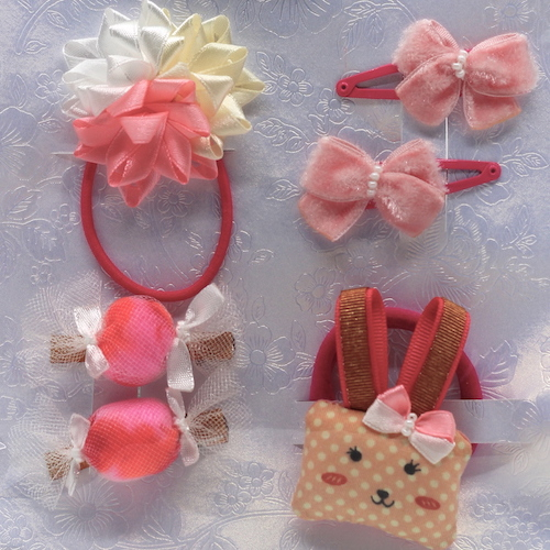 12 Kit Accessories Elizabete Munzlinger for Little Girls