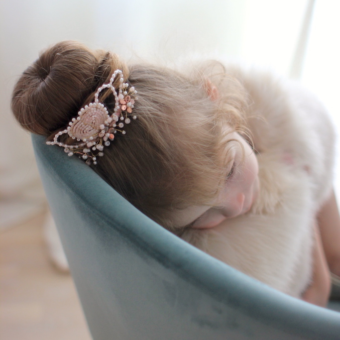 Ballerina Hair Crown by Elizabete Munzlinger